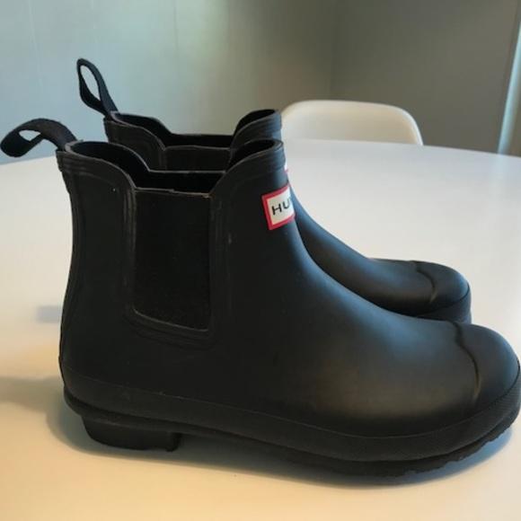 Short Ankle Rain Boots